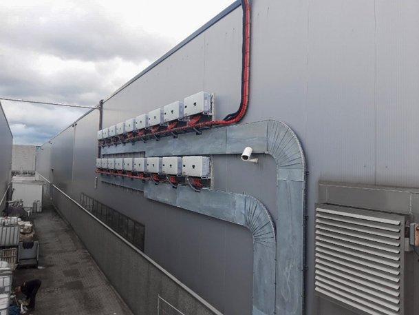PV installatie aansluiten